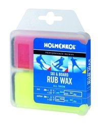 Holmenkol All Snow Ski And Snow Rub Wax