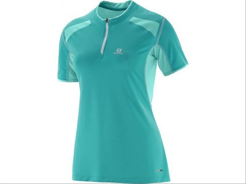 Camiseta Mc Salomon Fast Wing Hz Ss Tee W Teal B (-40%)