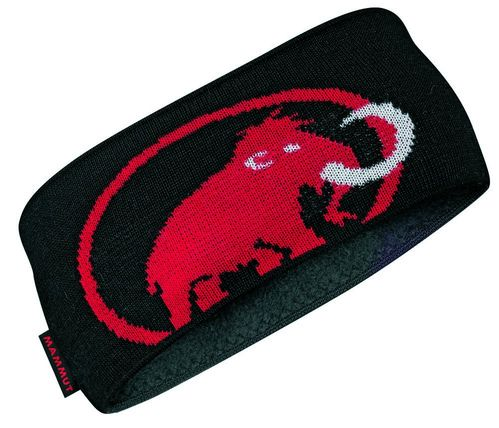 Mammut Tweak Headband (negro-rojo) (-12%)
