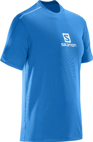 Camiseta Salomon Mc Stroll Tee M Azul(-15%)