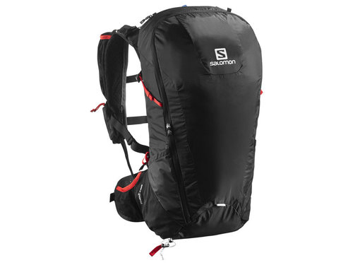 Mochila Salomon Peak 30 Black/Bright Red (-35 %)