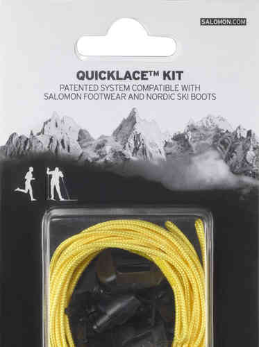 Kit de cordones Salomon (amarillo)  (-20%)