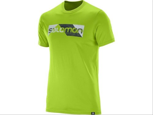 Camiseta Salomon Mc Cutter Ss Cotton Tee M Gr (-40%)