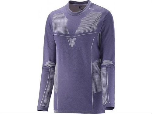 Salomon Primo Warm Ls Cn Tee W Daybreak Grey (-40%)