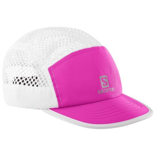 Salomon Air Logo Cap  (- 50%) Blanca/ rosa