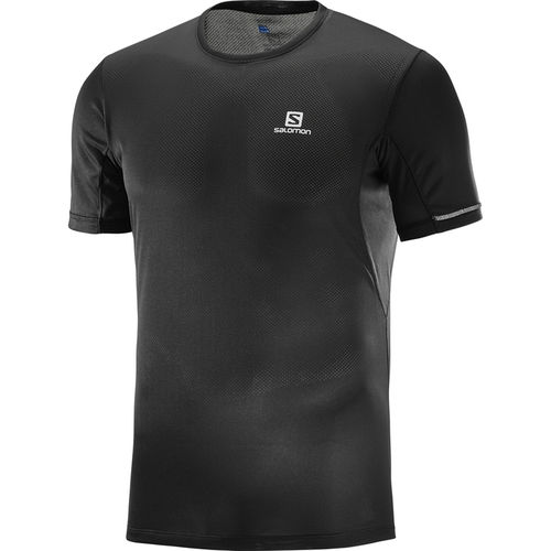 Salomon Camiseta Mc Agile + Ss Tee M Black (-40%)